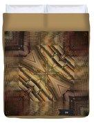 Strange Abstract  Duvet Cover