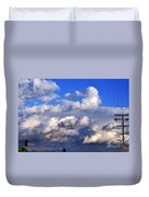 Strange Clouds Duvet Cover