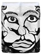 Strange Man Duvet Cover
