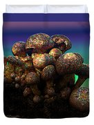 Strange Mushrooms 2 Duvet Cover