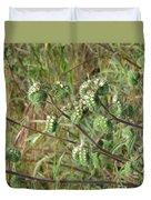 Strange Weed Duvet Cover