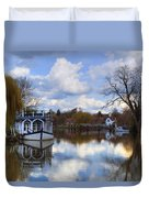 Strateley - England Duvet Cover