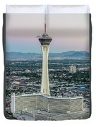 Stratosphere Casino Hotel And Tower Duvet Cover