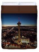Stratosphere Casino Hotel  Duvet Cover