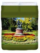Strauss In Flowers Duvet Cover