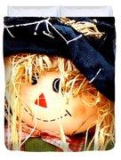 Straw Girl Duvet Cover