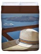 Straw Hat  Duvet Cover