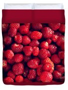 Strawberries Duvet Cover