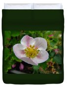 Strawberry Blossom Duvet Cover