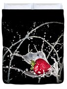 Strawberry Extreme Sports Duvet Cover