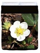 Strawberry Flower 1 Duvet Cover