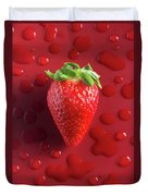 Strawberry Fresh One Duvet Cover