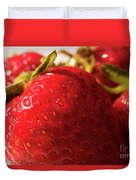 Strawberry Fun Duvet Cover