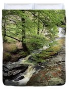 Stream In The Irish Countryside Duvet Cover