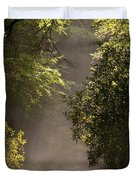 Stream Light Duvet Cover by Steve Gadomski