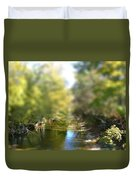 Stream Reflections Duvet Cover