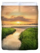 Stream To The Sea Duvet Cover