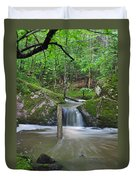 Stream Waterfall Duvet Cover