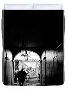 Street Ally New Orleans Black  Duvet Cover