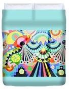 Street Art Duvet Cover
