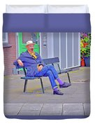 Street Art. Eighth Octave C. Duvet Cover