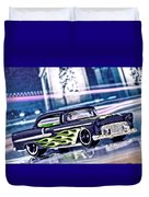 Street Cruiser - American Way Of Drive 4 By Jean-louis Glineur Duvet Cover
