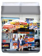 Street Food 2 Duvet Cover