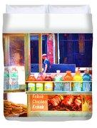Street Food 3 Duvet Cover