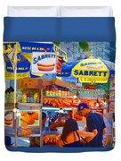Street Food 5 Duvet Cover