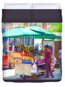 Street Food 6 Duvet Cover