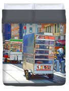 Street Food 8 Duvet Cover
