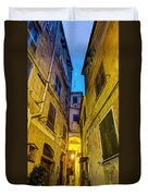 Street In Vernazza Duvet Cover