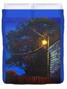 Street Light Nocturne Duvet Cover