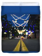 Street Lights Duvet Cover