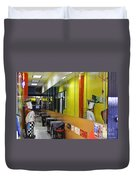 Street Photography Duvet Cover
