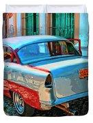 Street Racer Duvet Cover