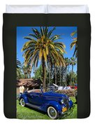 Street Rod In Meguiar's Circle Of Excellence Duvet Cover