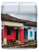 Streets Of Ataco 2 Duvet Cover