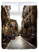 Streets Of Italy - Citta Sant Angelo 2 Duvet Cover