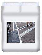 Streets Of Mainz 1 Duvet Cover