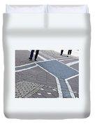 Streets Of Mainz 2 Duvet Cover