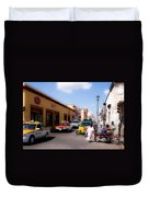 Streets Of Oaxaca Mexico 1 Duvet Cover