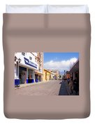 Streets Of Oaxaca Mexico 2 Duvet Cover