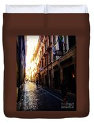 Streets Of Rome 2 Duvet Cover