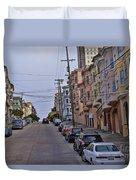 Streets Of San Francisco -2 Duvet Cover