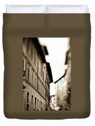 Streets Of Siena 2 Duvet Cover