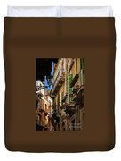 Streets Of Siracusa Duvet Cover