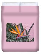 Strelitzia Double Bloom Duvet Cover