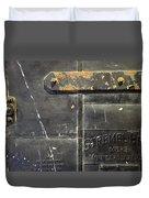 Stremel Bros. Firedoor Duvet Cover