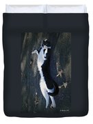 Stretchy Cat Duvet Cover